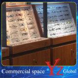 ガラスの飾り戸棚(YZ160404)ガラスのショーケースガラス展覧会木キャビネット