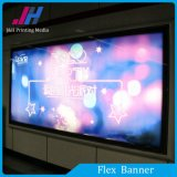 Bannière flexible en PVC à l'extérieur ou à l'intérieur