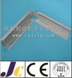 6063 aluminium anodisé par argent, profils en aluminium (JC-P-84043)