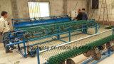 China-ausgezeichneter Qualitätsniedriger Preis galvanisierter Belüftung-überzogener dekorativer Kettenlink-Zaun-Maschendraht