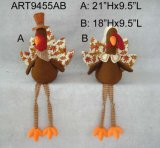Счастливые мальчик хлебоуборки и девушка Turkey-2asst