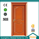 O PVC MDF folheado de madeira interior do painel de porta de madeira para projectos