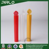 tubi vuoti farmaceutici pp del tubo unito di plastica variopinto di 120mm con la protezione della parte superiore di vibrazione per la medicina delle pillole che impacca la fiala di plastica della pillola