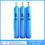 40L Seamless Steel Oxygen Gas Tank Factory ISO9809