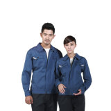Polyester-fertigen Selbstarbeiter-Uniform 100% mit kundenspezifisch an