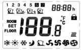 Beste 7 Tagprogrammierbare elektrische ersetzen Modulationsgehäuse-Thermostat (HTW-31-F17)
