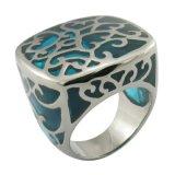 2015의 자연적인 원석 반지 스테인리스 보석 반지