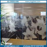 Templado en color arte del vitral decorativo de cerámica Impresión Digital Serigrafía