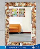 Le bord biseauté du rétroviseur de châssis/teinté d'argent/miroir réfléchissant avec la CE