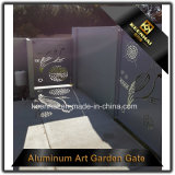 Самомоднейшая модная алюминиевая дверь