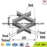 Feuille métallique élargie en laiton pour l'exportation Haute qualité