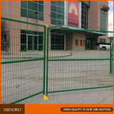 Cerca de seguridad temporal del hierro al aire libre de la cerca