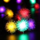 50 Kugel-Weihnachtslicht-Solarprodukt-dekoratives Solarzeichenkette-Licht-im Freien wasserdichte feenhafte Solarlichter LED-Chuzzle für Festival-Feiertags-Partei