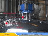 Tanque de mistura não isolado 2000L com o agitador da varredura do lado e da parte inferior