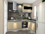 De witte Keukenkast van de Oven van de Melamine Moderne