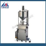 Máquina de enchimento de líquidos essenciais com creme de temperatura Semi-Auto