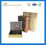 주문 설계하십시오 인쇄한 장식적인 책 모양 마분지 서류상 포장 상자 (대중 가요 악보집 장식적인 상자)를