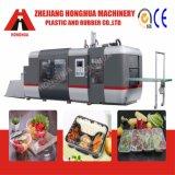 Machine complètement automatique de Thermoforming de récipients en plastique pour le matériau d'animal familier (HSC-720)