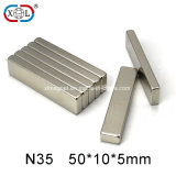 常置NdFeBの中国の製造者の卸売N35のブロックNeodymiummagnet