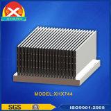 Dissipatore di calore di alluminio dell'espulsione con la soluzione di raffreddamento efficiente