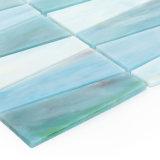 Mosaico di vetro colorato decorazione americana della parete di stile per la cucina Backsplash