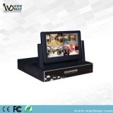 """4chs H. 264の7 """" LCDの1080PハイブリッドCCTV DVR"""