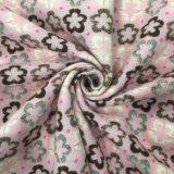 Plum Blossom estilo jacquard lana de tela de archivo