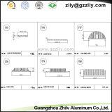 Tutta la serie personalizzata/alluminio Finished del laminatoio profila il radiatore