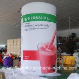Levendig Ontwerp en de Draagbare Opblaasbare Fles van pvc van de Drank voor reclame