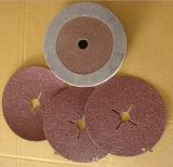 Disque abrasif de Flber de zirconium pour l'acier anti-calorique
