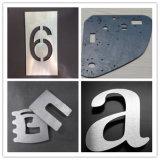 Cortador inoxidável do laser da fibra da placa de aço da maquinaria da estaca do metal da precisão