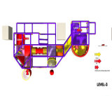 Parque de Diversões alegrar com temática de circo playground coberto para venda