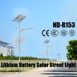 Luz de rua solar brilhante super de Featrued sobre o lúmen 120lm/W