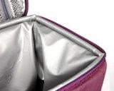 Calor de plata del color de PEVA - tela de la guarnición del bolso del refrigerador del aislante