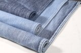 Algodão sarjado Spandex Slub Knittind Denim para jeans