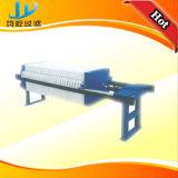 Imprensa de filtro de Samll da placa de aço inoxidável e da membrana do laboratório do frame