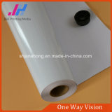 Visão adesiva do one-way do vinil do PVC