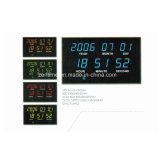 Fonction radio automatique de réglage du temps Calendrier Horloge numérique DEL électronique