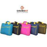 Chubont 주름 물자 다기능 숙녀 휴대용 퍼스널 컴퓨터 핸드백 Bacpack