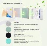 Высокое качество очистки воздуха HEPA пылесос с 4 этапа фильтры