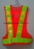 Alta maglia riflettente di sicurezza di visibilità LED