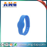 13,56MHz Hf RFID Silicone Wristband para Sauna Bath Center