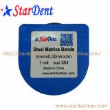Rollo Dental Matrice Fábrica de las bandas de matriz de acero