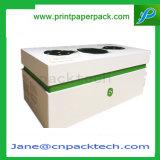 Kundenspezifische Oberseite und Unterseite drei Stücke Kasten-Papier-Geschenk-verpackenkasten-