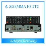 Melhor versão HDTV Box Zgemma H3.2tc Receptor de satélite / cabo Sistema operacional Linux Enigma2 DVB-S2 + 2xdvb-T2 / C Sintonizadores duplos