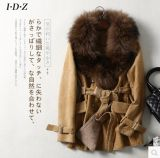 革および毛皮のコート