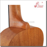 Atacado Atacado de mogno de madeira compensada de cetim acabamento Rosewood Fingerboard Ukulele (AU07LH)