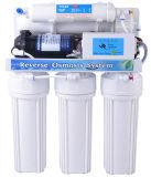 Sistema doméstico del RO de 5 etapas con la visualización de 5 lámparas