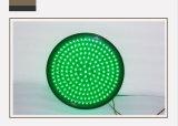 道接続点400mmの二色の赤い緑の交通信号ライト