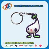 Speelgoed van Keychain van het Embleem van de douane het Zachte Rubber 3D
